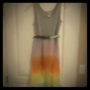 Dress Junior size 14. Summer skirt colorful